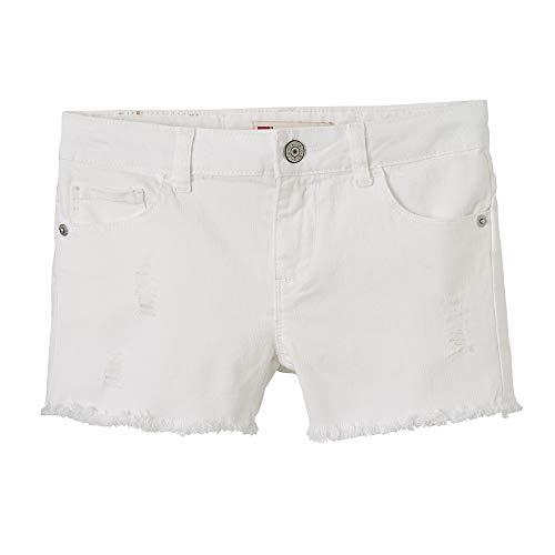 Levi's Kids Mädchen Nn26587 Short Badeshorts, Weiß (White 01), 6 Jahre (Herstellergröße: 6Y)