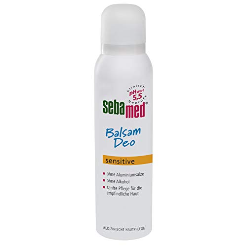Sebamed Bálsamo desodorante Sensitive Aerosol, 150 ml