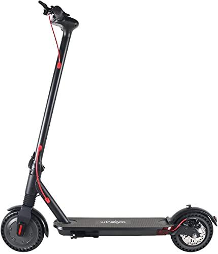 Windgoo Trotinette Electrique Adulte, jusqu'à 18 km d'autonomie, 25 km/h, 8.5'' Roues Scooter Electrique Adulte