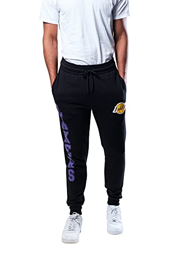 UNK NBA Herren Jogginghose Active Basic Soft Frottee Sweatpants, Herren, Jogger Pants Active Basic Soft Terry Sweatpants, Team Color, Small