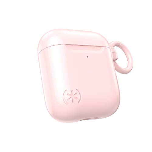 Speck Products CandyShell - Custodia per Apple Airpods (Gen 1/2), colore: Rosa quarzo
