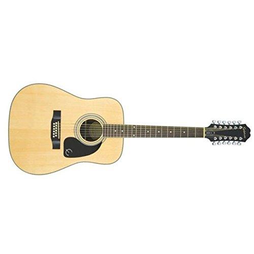 Epiphone DR-212 Dreadnought 12-string Akustik-Gitarre (Mahagoni Korpus, Fichtendecke, 25.5 Mensur)