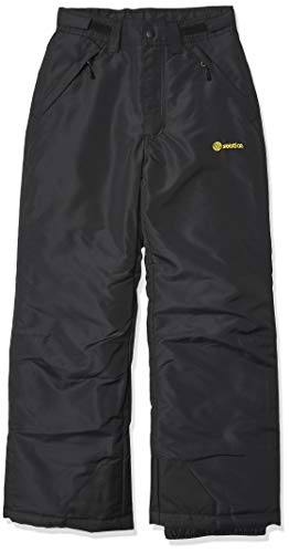 Solstice Apparel Boys Snow Pants, Black, 14-16