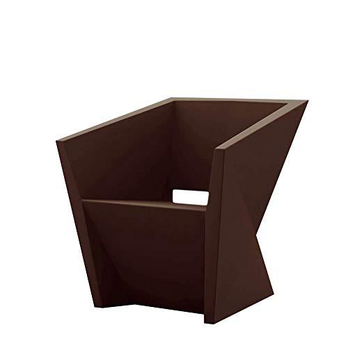 Vondom Faz Sillon Petit fauteuil d'extérieur Rouge