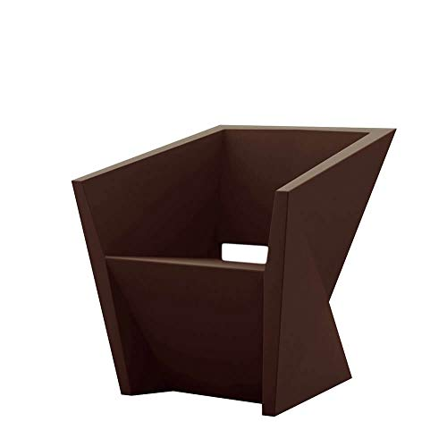 Vondom Faz Sillon petit fauteuil pour l'extérieur bronze