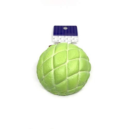 Original Cafe De N Melon Bun Squishy Soft and Slow Rising Squishy Toys Squishy Cake Bread Key Chain Kids Toys Collection,Green