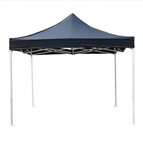 KUSAZ Gazebo tent Outdoor shading and ventilation gazebo-black