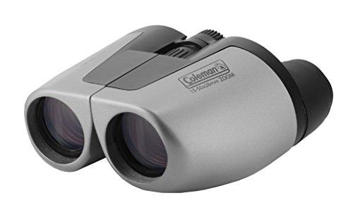 Coleman 15-50x28 Compact Zoom Binoculars, Silver (CZ155028)