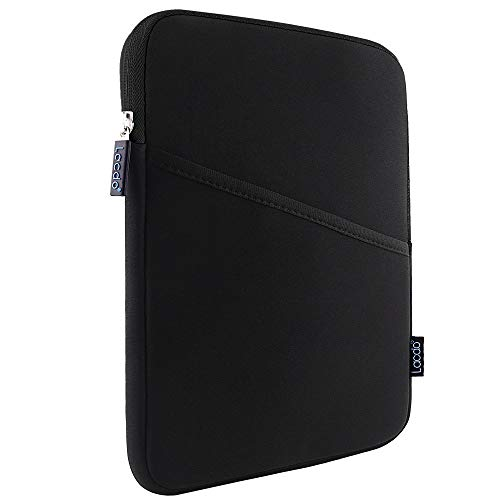 iPad Mini Case, iPad Mini 5 Sleeve, Lacdo Shockproof Tablet Sleeve Compatible iPad Mini 5,4,3,2 / Samsung Galaxy Tab A 8-Inch/ASUS ZenPad Protective Bag, Black/Black