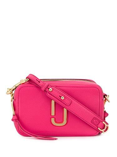 Luxury Fashion | Marc Jacobs Dames M0014591656 Fuchsia Leer Schoudertassen | Lente-zomer 20