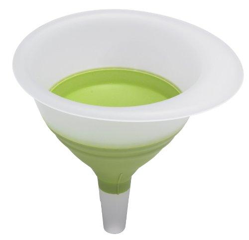 Progressive CF-1GML Entonnoir rétractable, Plastique, Vert, 14 x 14 x 4,5 cm