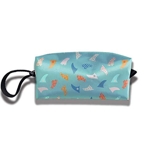 Pencil Bag Make-up Tasche Surfboard Fin Frauen Kosmetiktasche Multifunktions Durable Pouch Zipper Organizer Bag