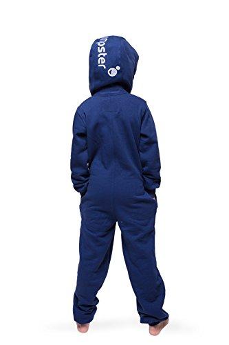 Jumpster Jungen und Mädchen Jumpsuit Kinder Overall Kids Purest Blue Blau - 2