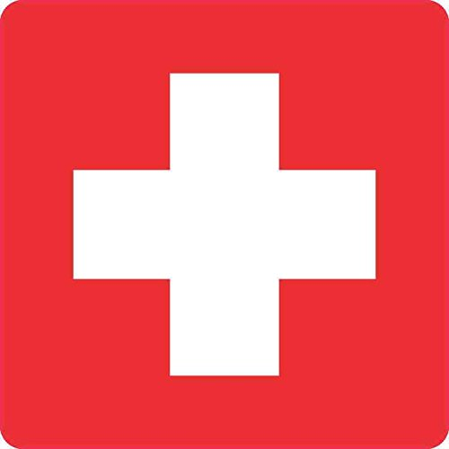 medical cross decal - 1