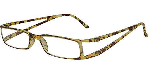 LINDAUER Moderne Designer Lesebrille +2,5 Fertigbrille Damen & Herren havanna