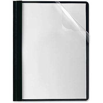 presentation folders clear front