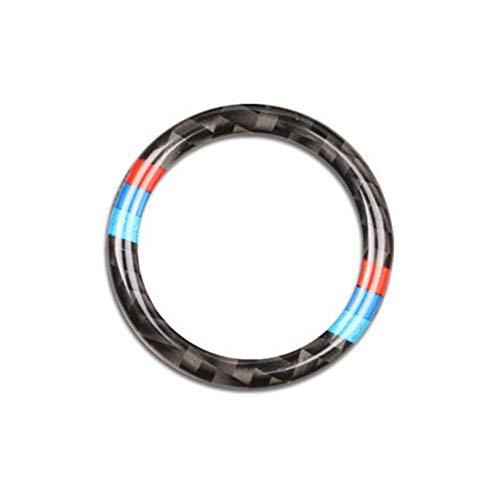 Preisvergleich Produktbild Lembeauty Ringrahmen für den Start / Stopp-Knopf,  kreisförmig,  Kohlefaser-Dekorationsring