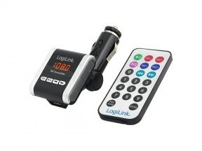 LogiLink FM Transmitter +MP3 Player SD,USB, Audio (FM0001A)
