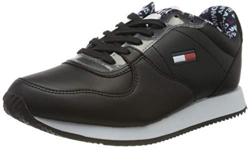 Tommy Hilfiger Damen WMNS Stevie 3c4 Sneaker, Schwarz (Black Bds), 39 EU