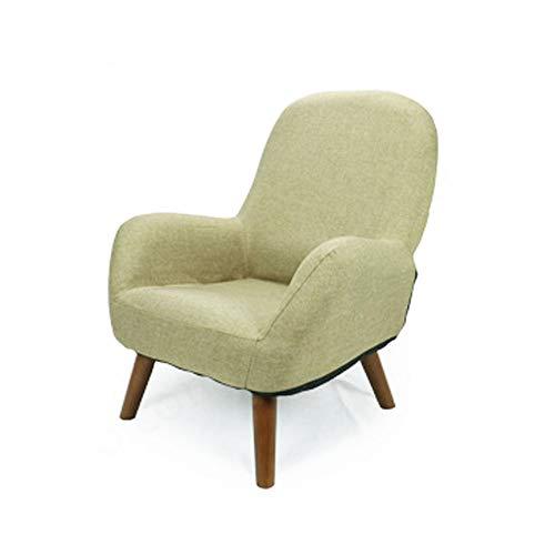 Aszhdfihas-sofa Sedia Imbottita per Bambini Sedia da Bambino Imbottita in Cotone per Bambini Sedia, Sacchi di Fagioli del Salone (Colore : Light Green)