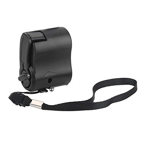 NIBESSER Ladegerät Powerbank Handkurbel Dual USB-Notfall Sonnenenergie Power Bank für Camping Reisen Outdoor
