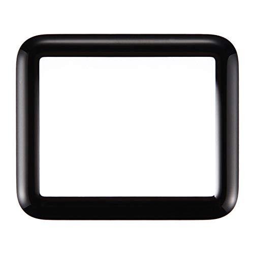 Displayglas Frontglas Ersatzglas für Apple Watch Serie 1/2 / 3 Reparatur Schwarz 38mm