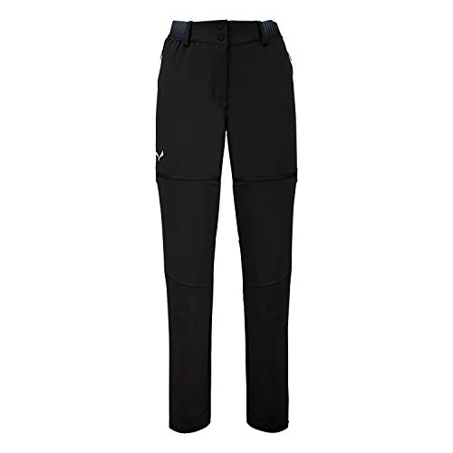 Salewa 00-0000027988_910 Pantalon Femme, Black Out, FR : M (Taille Fabricant : 44/38)