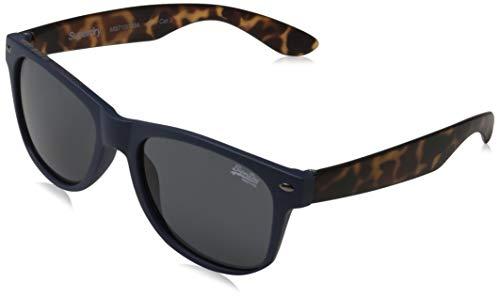 Superdry NEWFARE gafas de sol, Matte Navy/Tort, OS para Hombre