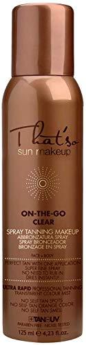 That'So Sun Makeup On The Go CLEAR 125ml Spray Autoabbronzante