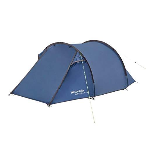 Eurohike Shadow 250 Nightfall Tunnel Tent, Blue, One Size