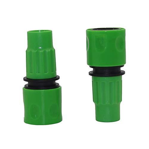 Durable 60pcs / lot 8 mm Conector de accesorios de riego telescópica Tubería Conectores Jardín pistolas de agua Decoración de jardín de riego Manguera rápida ( Color : Random , Diameter : 8mm )