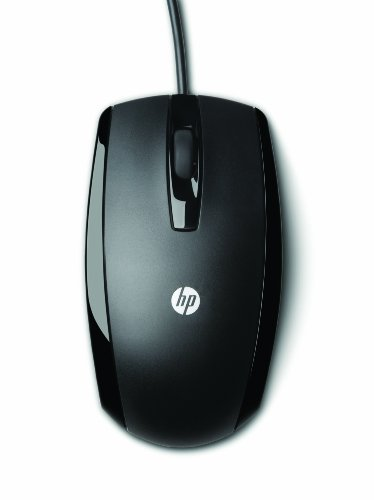 HP USB 3 Button Optical Mouse (KY619AA#ABA),black
