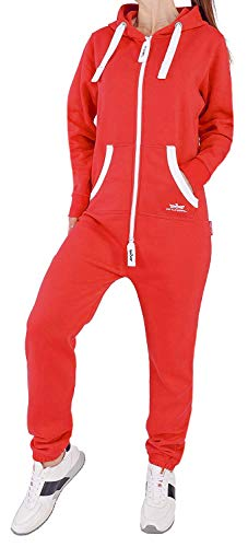 32Q145 Finchgirl FG18R Damen Jumpsuit Overall Rot L