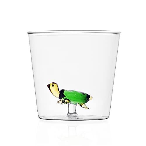 Ichendorf Milano 9352372 Tumbler Tartaruga Verde, Glass
