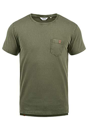 !Solid Jack Herren T-Shirt Kurzarm Shirt Mit Rundhalsausschnitt Aus 100{dd6ae43f6d633caf117483f04465ef9abb1ae82592ff8f4dd698d844f6f8ef2a} Baumwolle, Größe:L, Farbe:Climb Ivy (3785)