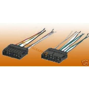 95 geo tracker stereo wiring amazon com stereo wire harness geo tracker 96 97 1996 1997  car  stereo wire harness geo tracker