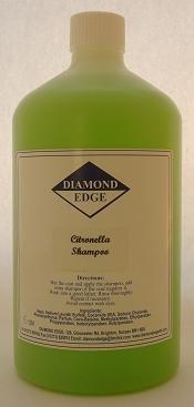 Diamond Edge Citronnelle Shampooing de toilettage, 1 litre