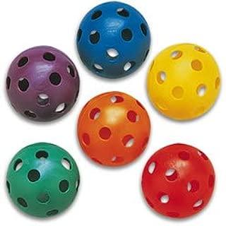 Plastic Play Balls - Softball Size (Set of 6)