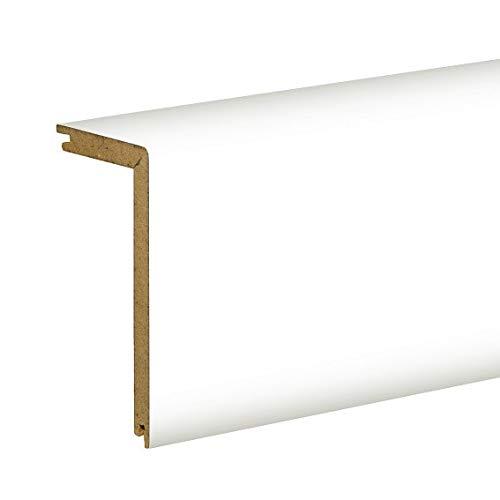 Heizrohrabdeckleiste 91 x 41 mm (10.85 €/ m) / Verkleidung weiß/Abdeckung und Zubehör