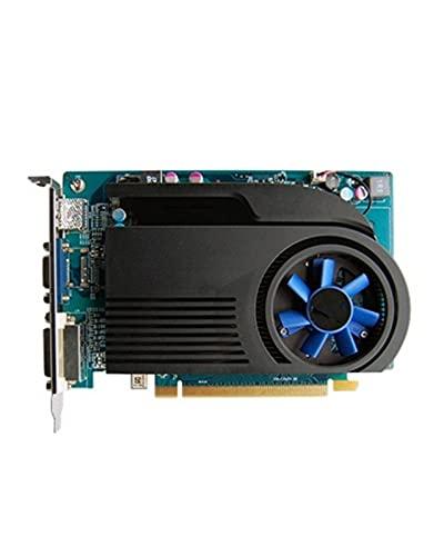 Enfriamiento de doble ventilador Fit For SAPPHIRE HD6570 Tarjeta gráfica de 2GB GPU apto para tarjetas Fit For AMD Radeon HD 6570 Computadora de oficina Tarjeta de PC de escritorio Mapa Ahorro