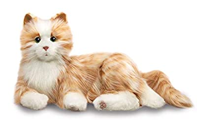 Ageless Innovation | Joy For All Companion Pets | Orange Tabby Cat | Lifelike & Realistic, Model:B7592
