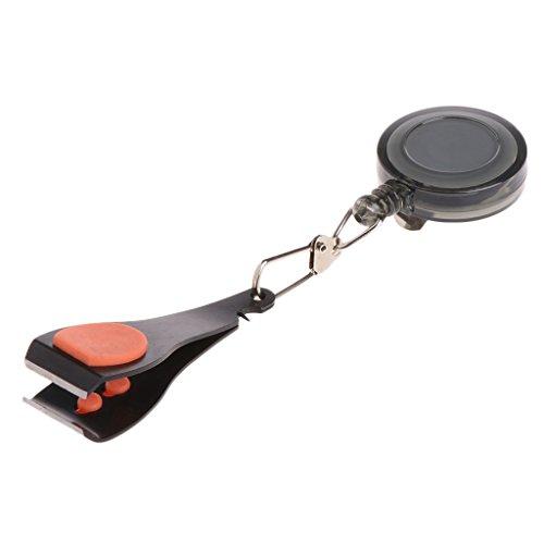 Forgun Edelstahl Angelschnur Nail Nipper Clipper Pin auf Spule Fisch Tackle Werkzeuge