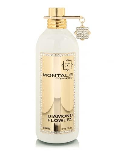 100% auténticas flores de diamante MONTALE Eau de perfume de 100 ml fabricado en Francia + 2 muestras de Montale + 30 ml de cuidado de la piel