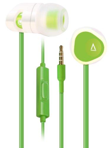 Creative Labs MA200 auricolare per telefono cellulare Stereofonico Verde, Bianco Cablato