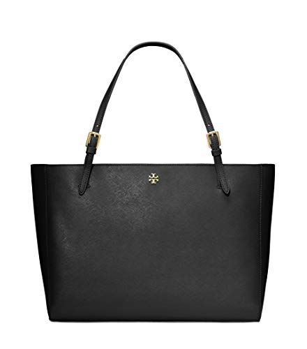Tory Burch Emerson Small Buckle Tote York Shoulder Bag Luggage 49127