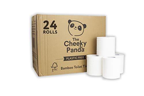 The Cheeky Panda Kunststofffreies Toilettenpapier, 2,88 kg