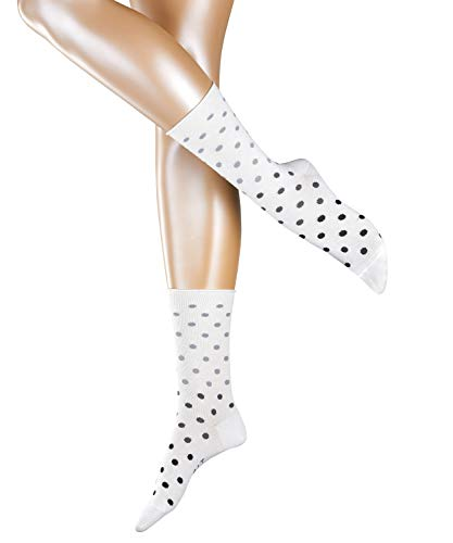 ESPRIT Damen Multicolour Dot W SO Socken, Weiß (Off-White 2040), 39-42 (UK 5.5-8 Ι US 8-10.5) (2er Pack)