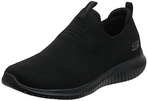 Skechers womens Ultra Flex - First Take Sneaker, Black, 9 US