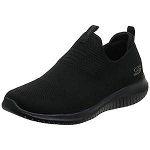 Skechers Sport Women's Ultra Flex-First Take Sneaker,black,8 M US
