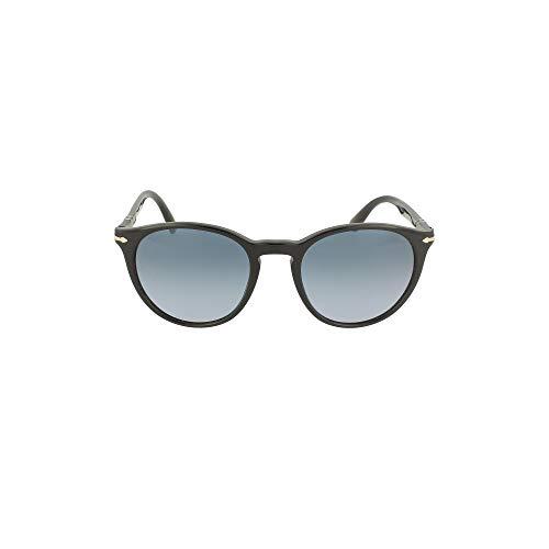 Persol Occhiali da Sole GALLERIA '900 PO 3152S BLACK/BLUE SHADED 52/20/145 uomo
